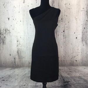 BCBGeneration one shoulder little black dress